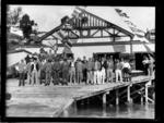 Nelson Rowing Club opening, 1931
