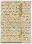 Letter from Ella A. Crofts, London, to Ralph Catley, in New Zealand, at the time of the influenza epidemic.
